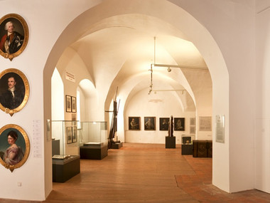 Permanent exhibition on the castle history